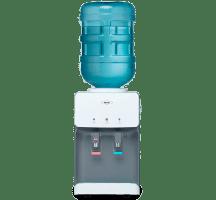 Dispensador de agua menú