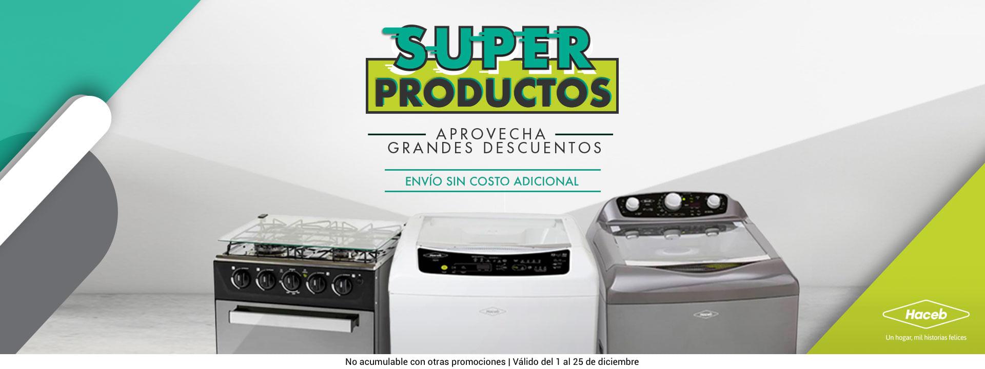 Super Productos Haceb Marca Líder De Electrodomésticos Col